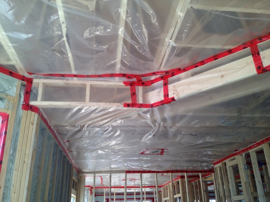 Drywall Moisture Barrier : April building our dream home page