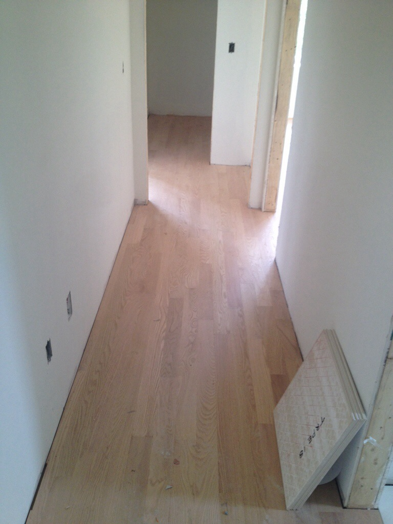 Hardwood Flooring Building Our Dream Home